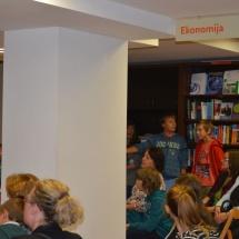 V Konzorciju pa je Noč knjigarn zaznamovala ruska kultura