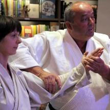 Društvo Ki Aikido je predstavil japonske neborilne veščine v Hiši sanjajočih knjig