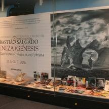 Izložba fotografskih knjig ob razstavi fotografij Sebastiaa Salgada, 30.5. do 20.6.