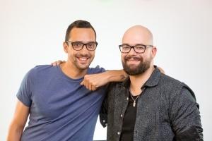 Rado Daradan in Mic Melanšek