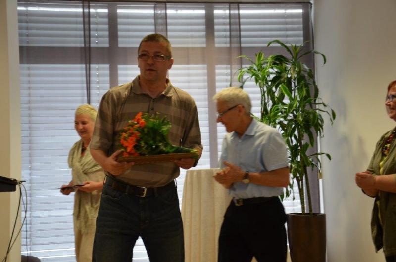 Naj založnik 2015, dr. Samo Rugelj, soustanovitelj in glavni urednik založbe UMco.